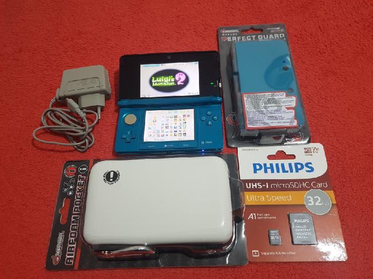 Nintendo 3ds xl con juegos digitales