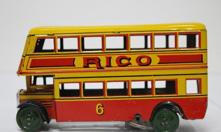 Autobús rico s.a. años 40. muy buen estado. original