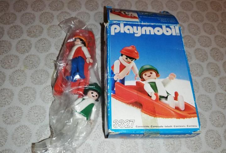 Caja playmobil spain 1984 ref. 3327 completa, era airgam,
