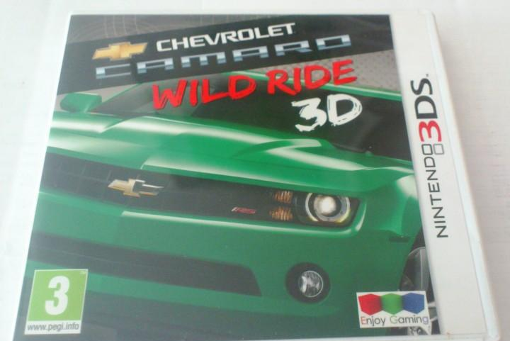 Chevrolet camaro wild ride nintendo 3ds