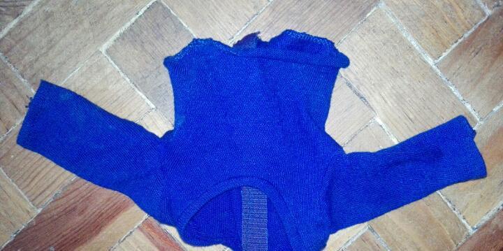 Camiseta azul nancy - años 70