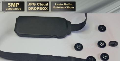 Cámara espía botón 3g 4g hotspot control remoto dropbox