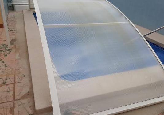 Cubierta piscina 6,8×3,6m