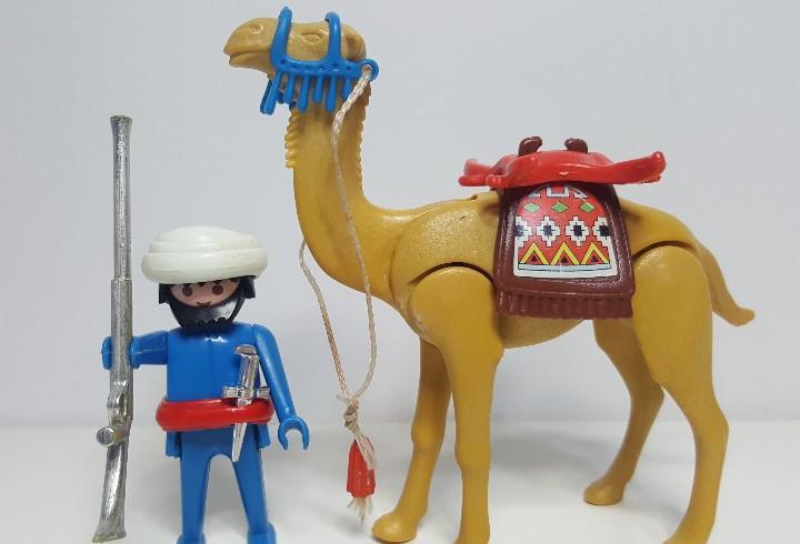 Dificil camello moro playmobil beduino arabe belen