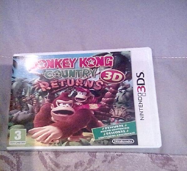 Donkey kong 3ds