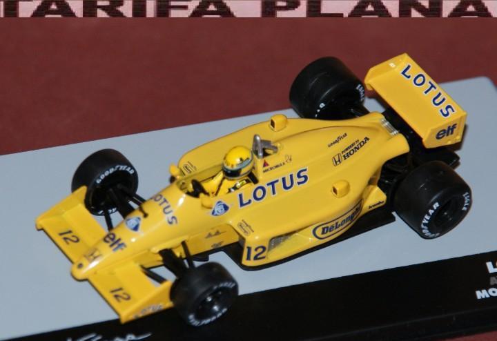 Formula 1 lotus 99t a. senna monaco gp 1987 escala 1:43 de