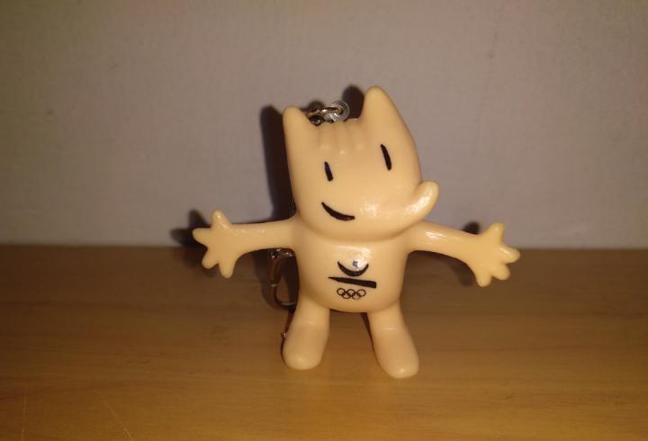 Figura pvc cobi mascota olimpiadas barcelona 92