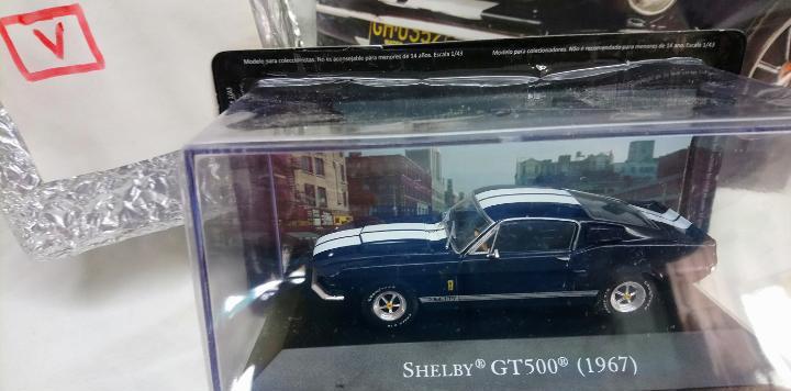 Ford mustang shelby gt500 en 1/43 american cars, altaya