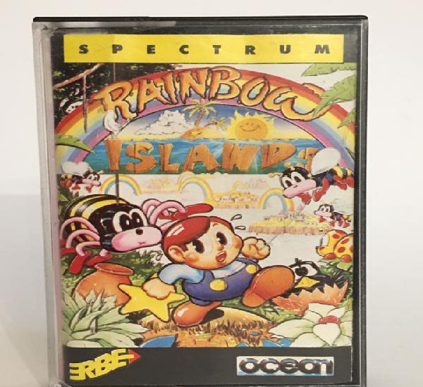 Juego original cassette spetrum rainbow islands 1990 ocean