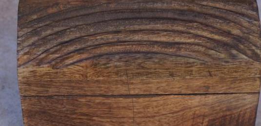 Joyero de madera nuevo artesanal hecho a mano