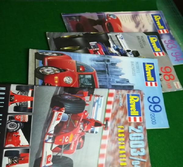 Lote catálogos revell
