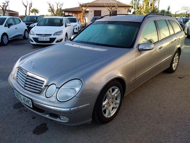 Mercedes-benz clase e familiar e220 cdi aut. 150 cv acabado