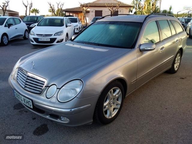 Mercedes clase e familiar e220 cdi aut. 150 cv acabado