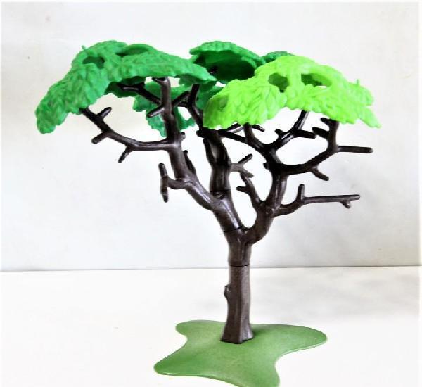 Playmobil medieval arbol vegetacion diorama