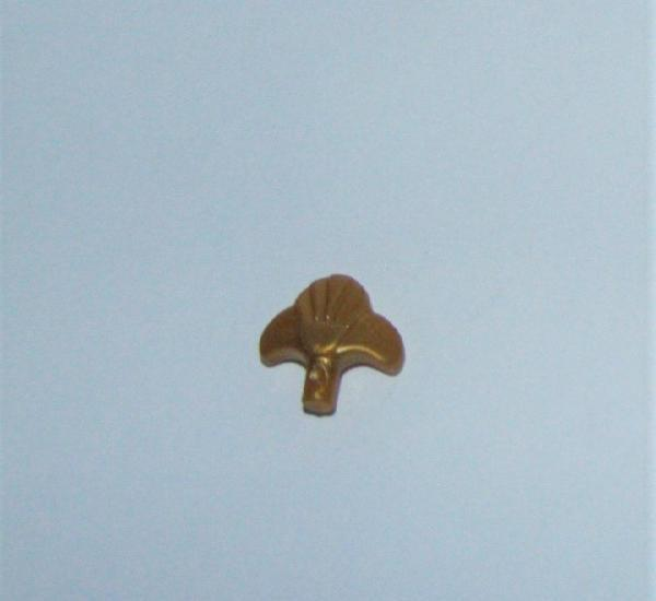Playmobil medieval pluma tocado dorado