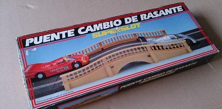 Puente rasante scalextric