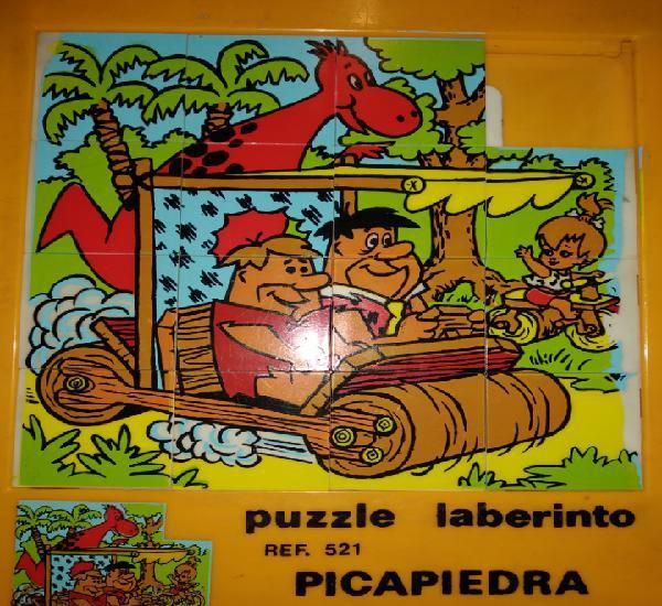 Puzzle laberinto picapiedra. ref.521. juedsa.