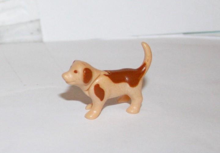 Playmobil medieval animal cachorro perro granja casa
