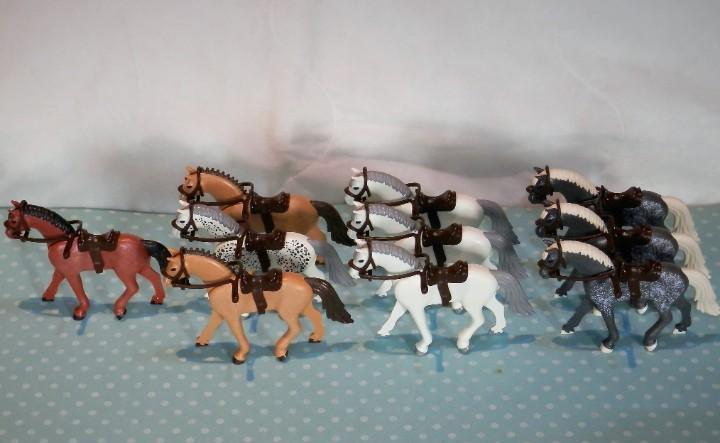 Playmobil caballos tercera generación oeste