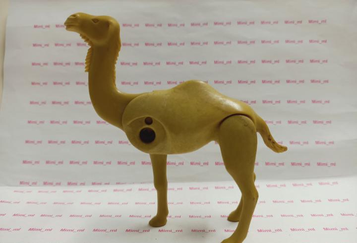 Playmobil camello desierto árabe belén reyes magos