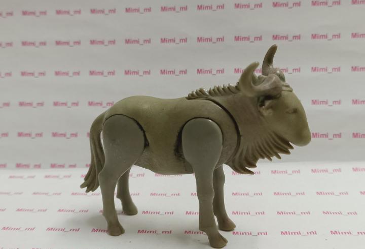 Playmobil ñu animales salvajes zoo sabana expedición