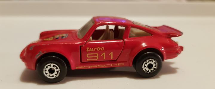 Porche turbo 911 matchbox