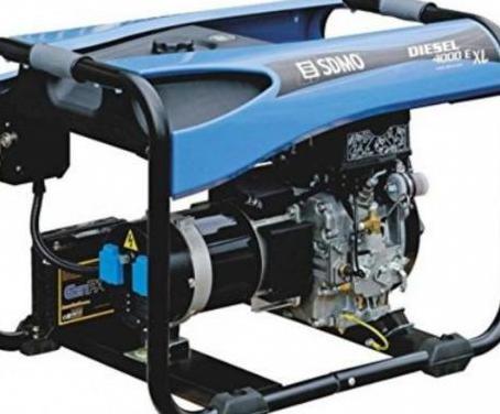 Sdmo diesel generador 4000 e xl c