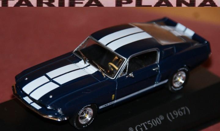 Shelby gt 500 1967 escala 1:43 de altaya en caja (esta tiene
