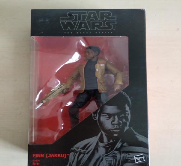 Star wars blister nuevo sin abrir finn (jakku) the black