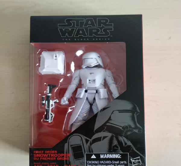 Star wars blister nuevo sin abrir snowtrooper officer the