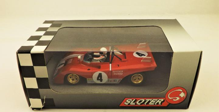 Sloter minimodels daytona 1972 clay regazzoni