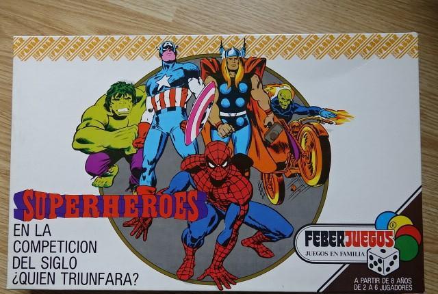 Superheroes feber juegos ref. 904 año 1984 completo y con
