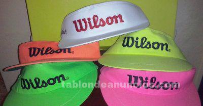 Viseras de wilson ajustables colores varios.