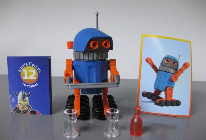 Playmobil serie 1 the movie sobre sorpresa robotitron nuevo