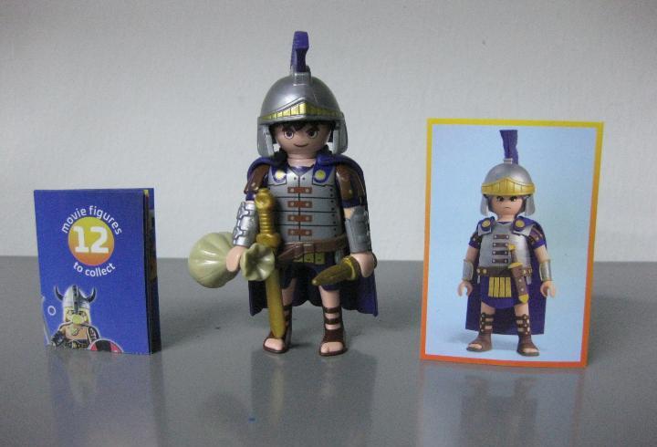 Playmobil serie 1 the movie sobre sorpresa romano nuevo a