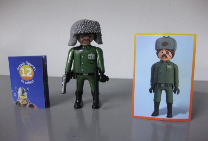 Playmobil serie 1 the movie sobre sorpresa ruso nuevo a