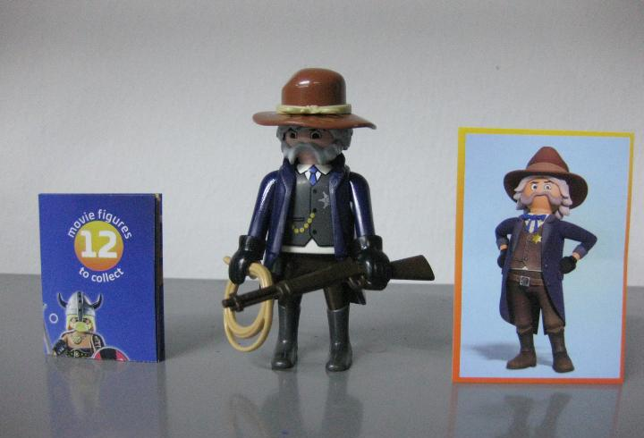 Playmobil serie 1 the movie sobre sorpresa sheriff nuevo a