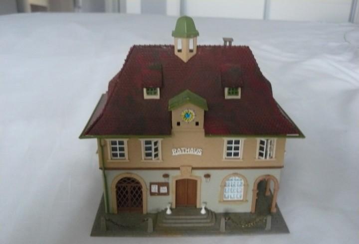 20mm o h0 faller edificio del ayuntamiento de rathaus ref.