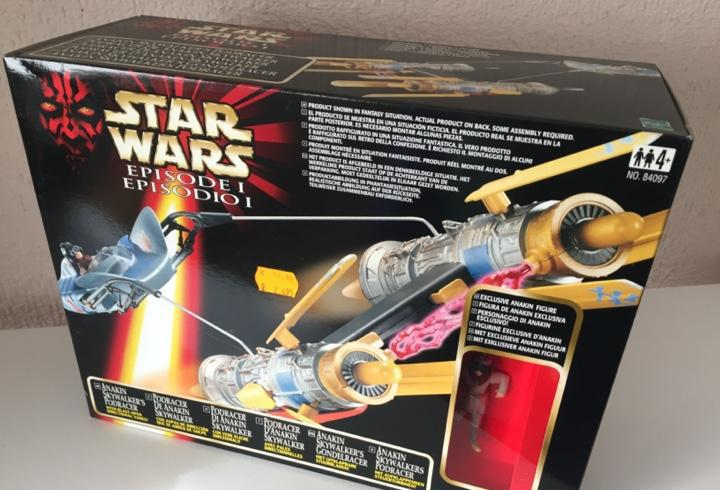 Anakin skywalker podracer - star wars - episodio i idiomas -