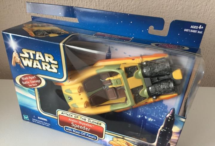 Anakin skywalker speeder - star wars - attack of the clones