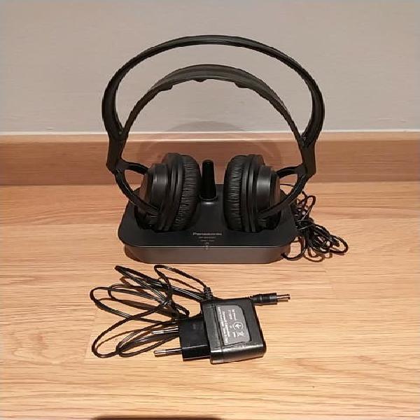 Auriculares inalámbricos tv panasonic rp-wf830