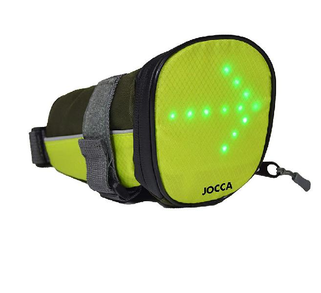 Bolsa portaequipajes sillin indicadores luminosos