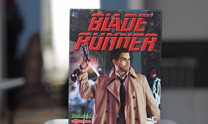 Blade runner pc caja de cartón aventura gráfica de 1997