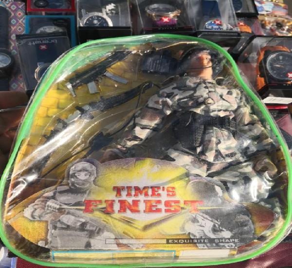 Bolsa mochila plástico time's finest comando command