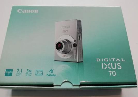 Camara digital canon ixus 70