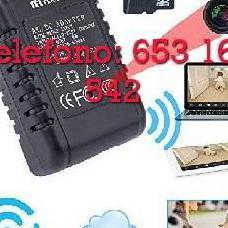 Cámara espia ip wifi cargador afmc