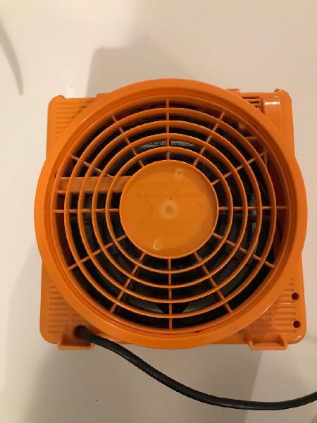 Calefactor aire naranja