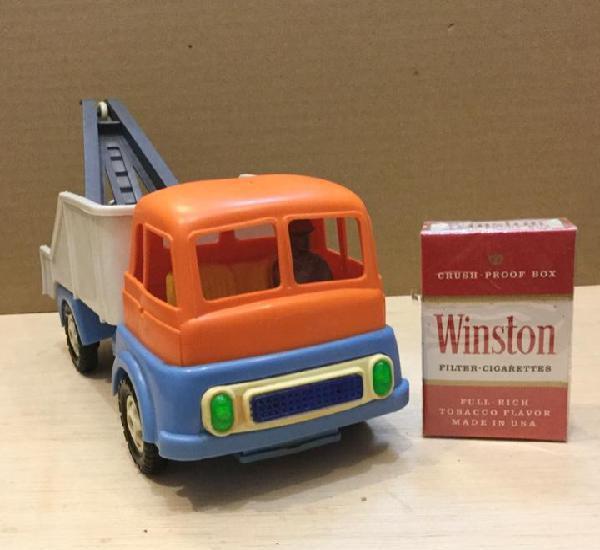 Camión grúa. 24 cms. geyper. años 70