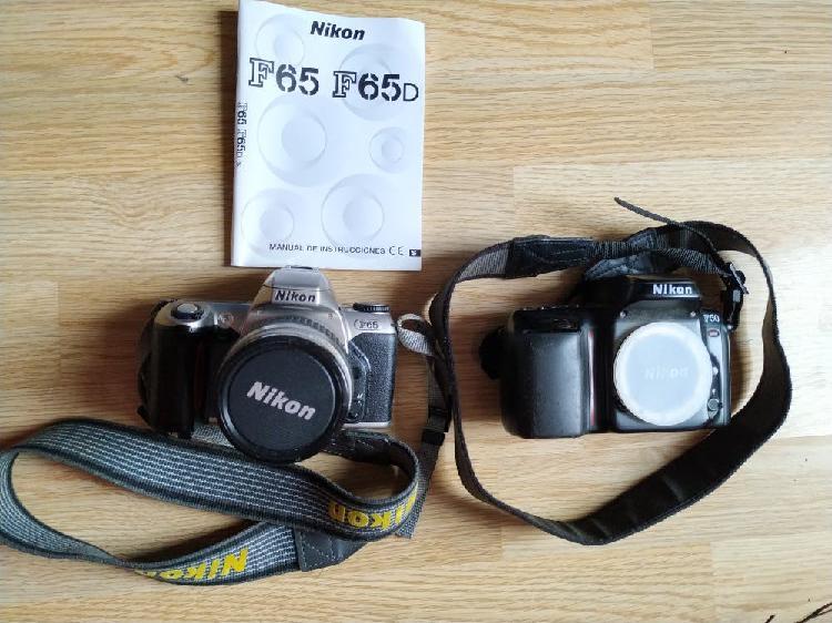 Cámaras de fotos réflex nikon f65 y f50