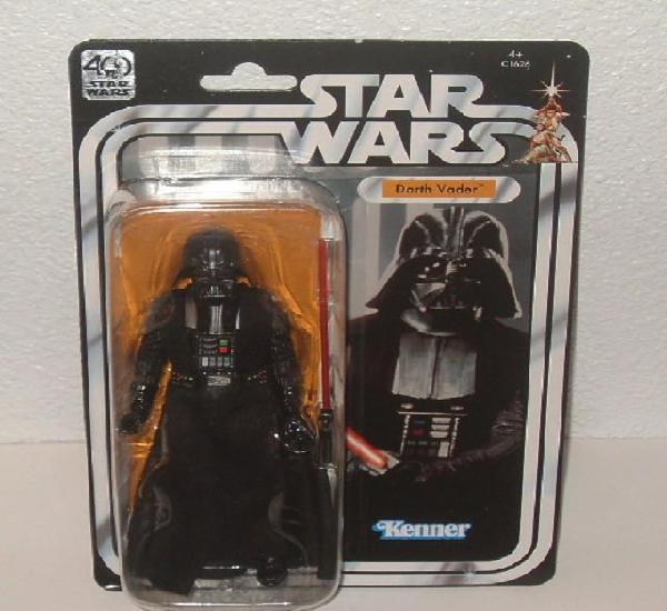 Darth vader star wars 40th anniversary black series figura